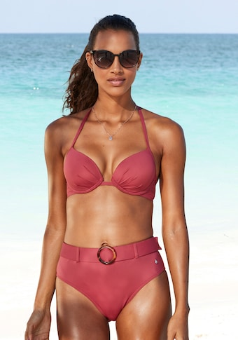 s.Oliver Beachwear Highwaist-Bikini-Hose »Rome«