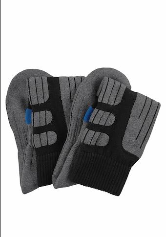 Go in Kniestrümpfe, (2 Paar), ideal für Wintersportaktivitäten